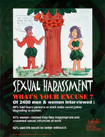 sexual harassment: what's your excuse?