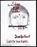 break the silence…