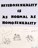 heterosexuality is as normal…