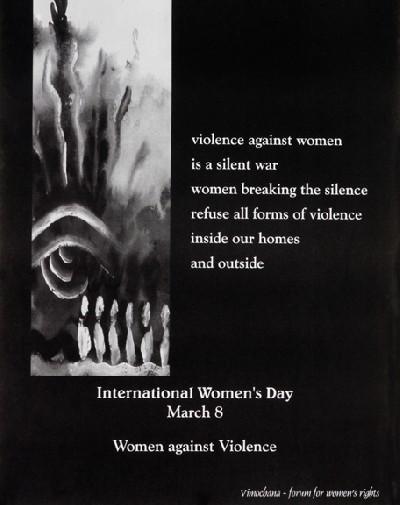 violence against women is a silent war