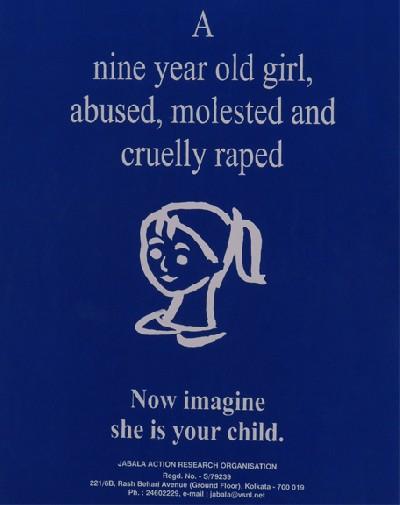a nine year old girl
